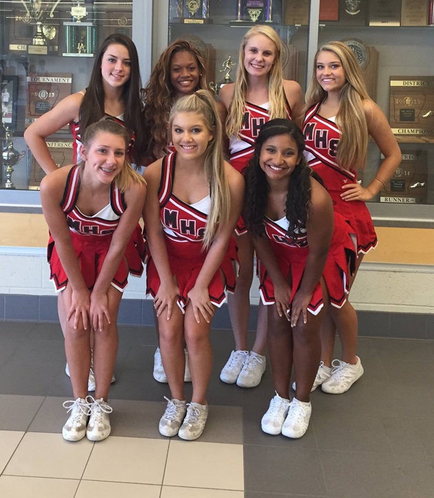 Hannah Williamson: Maumelle High Boasts Eight All-American Cheerleaders