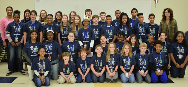 SHMS - Sylvan Hills Middle Math classes complete record